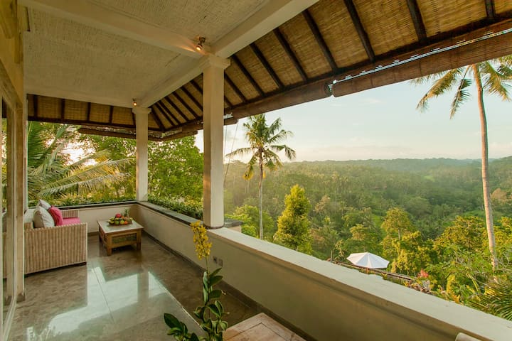 Rooftop Suite with Superb View - Ubud - Casa