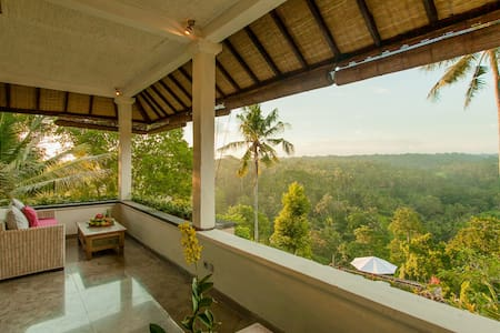 Rooftop Suite with Superb View - Ubud