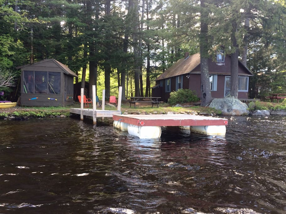 Lakeside secluded cabin cabins for rent in meredith new for New hampshire log cabins