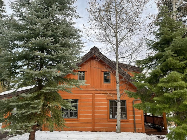 Bluebird Chalet- ski in/out hot tub & sleeps 10