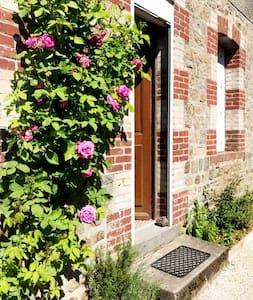Maison de bourg cosy et design en Normandie!