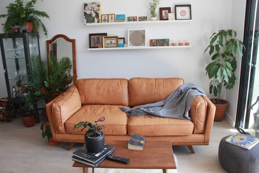Comfy couch perfect for a spot of reading, tv or doing nothing!