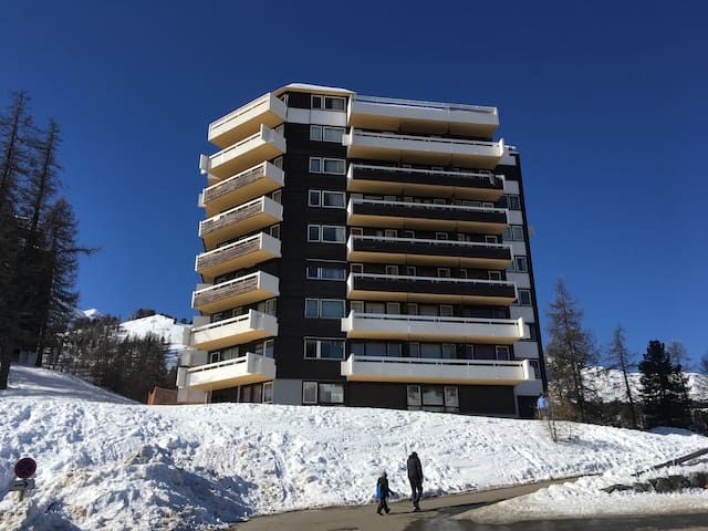 VARS - Fibieres - Pied pistes spacieux 6 Couchages