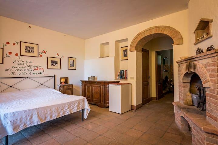 Camera privata in Agriturismo nel Chianti Senese