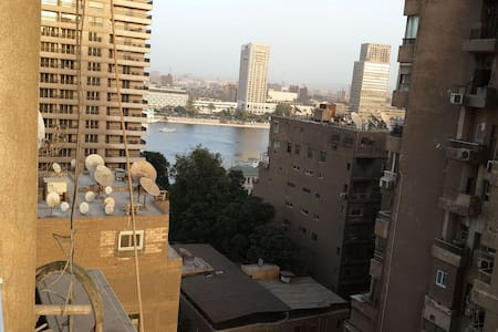 Nile view cozy central apartment