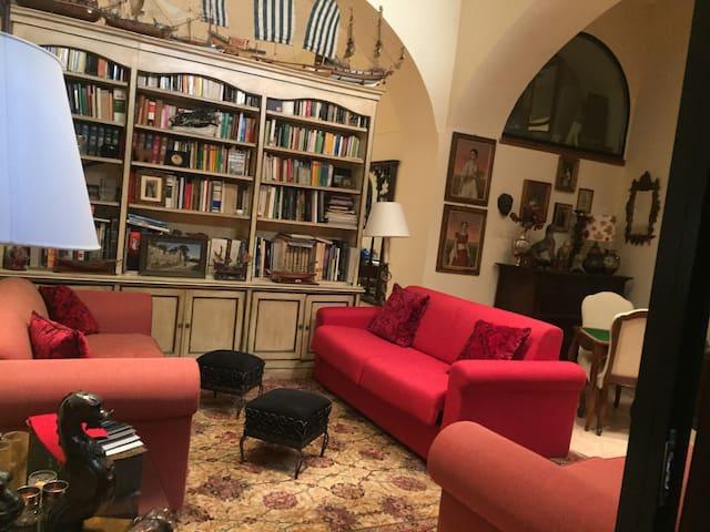 Prima sala ed entrata Con divano letto