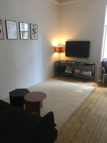 Cosy apartment in the heart of Frederiksberg
