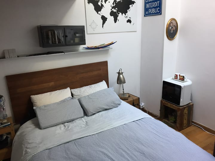 Chambre individuelle centre Saint-Malo à St Servan