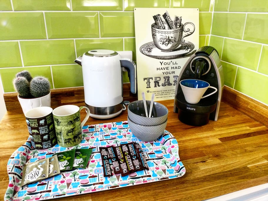 Tea/Coffee for Guests