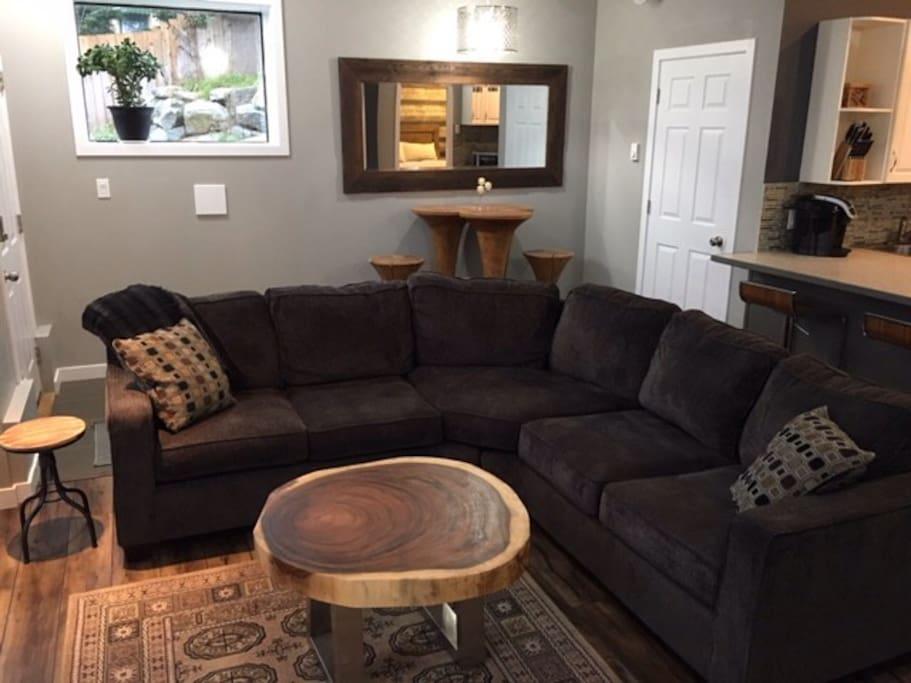 Bright, quiet and unique two bedroom suite