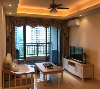 碧桂园十里银滩海悦湾度假公寓,很适合一家人度假,可以做饭 - 惠东