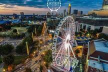 Downtown Atlanta Ga 5mins Away (Train Accessible)