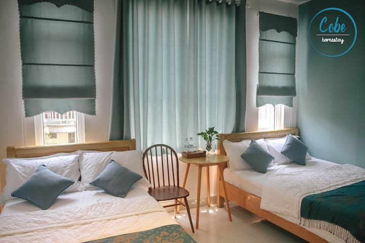 Cobe Homestay Quy Nhon - Cozy Quad Room