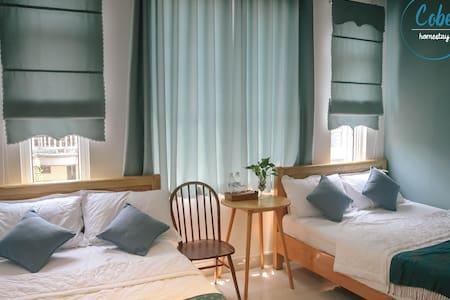 Cobe Homestay Quy Nhon - Cozy Quad Room
