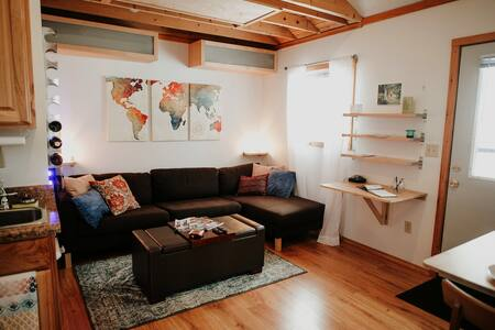 Modern Tiny House Perfect for Couple's Getaway