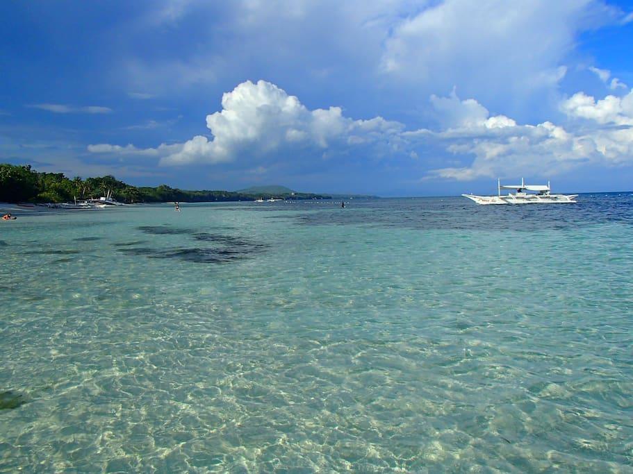 2 minutes walk to this stunning beach