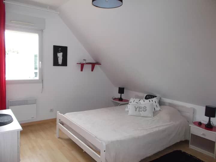 (Deux) Chambres à louer à Fontevraud.