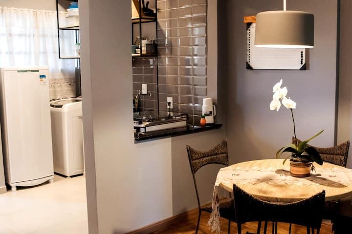Apartamento Moderno e Aconchegante no Cambuí
