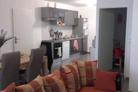 Jolie chambre dans maison T4 à 10km du Capitol - Bruguières