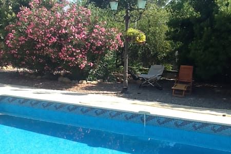 Chez Annabelle French holiday home with own pool - Laurens