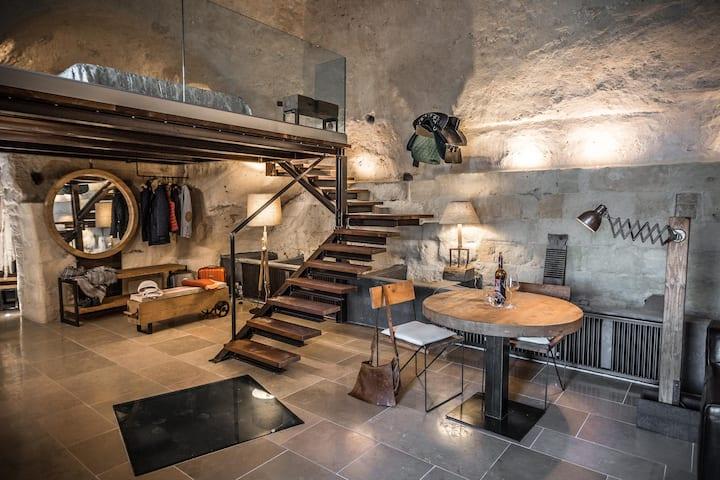 La Stalla, the true experience in a cave