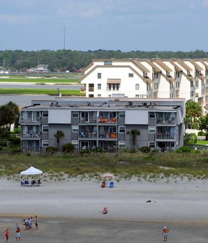 A Place at the Beach-OCEAN FRONT-RATES REDUCED!
