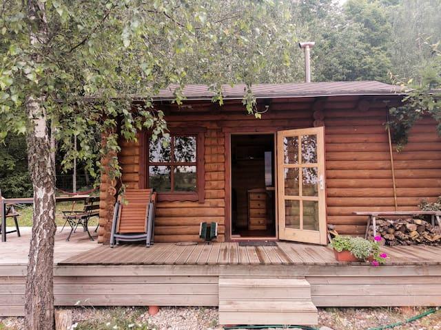Sauna cabin - Bohostay Glamping
