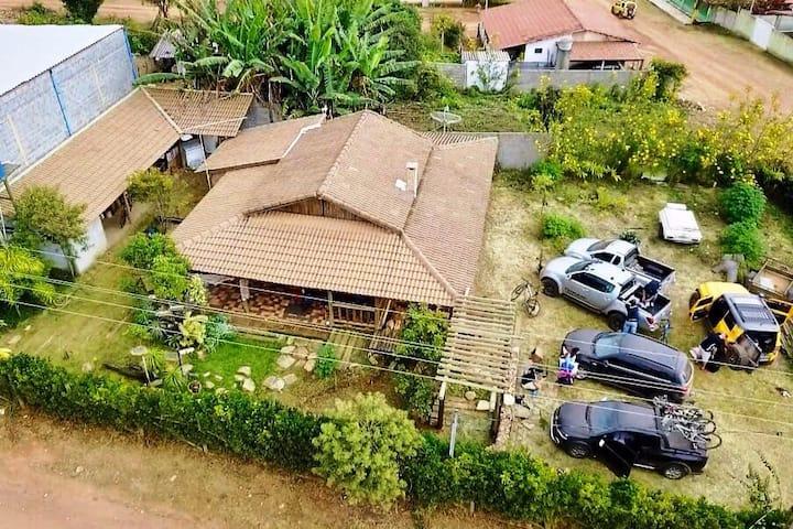 Casa na Serra da Canastra.Aconchego e Comodidade