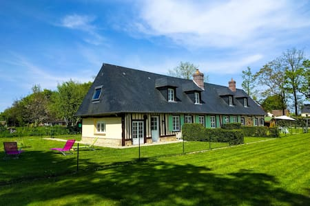 Peaceful Farmhouse, near the sea and a golf - Ocqueville - Ház