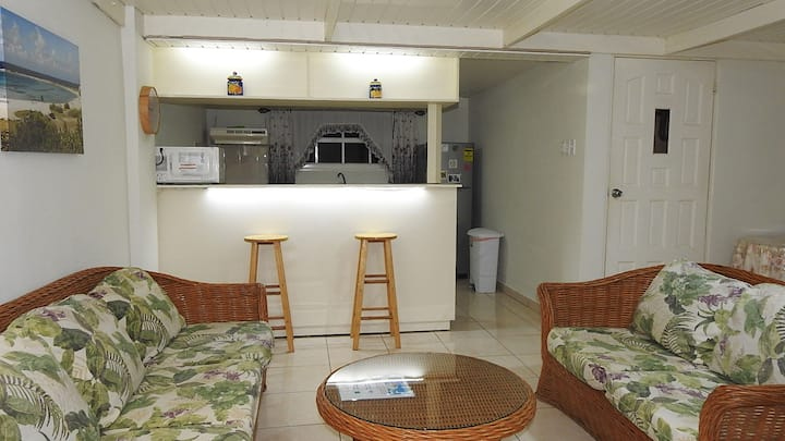 Dushi 1 bedroom apartment centrally w/ Wifi