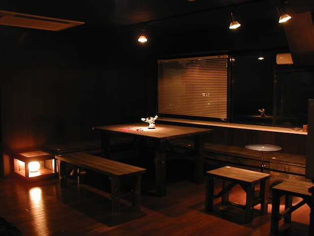 Backpackers Guesthouse - Tomisato-shi - Slaapzaal