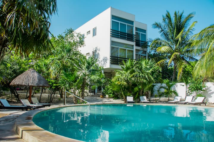 Furnished apartment in Progreso, Yucatán