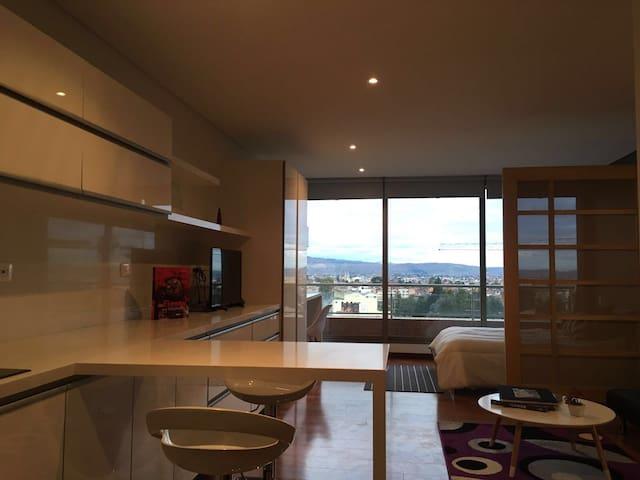 BOG Luxury Studio Perfectly Located New Building 1 - Bogotá - Loft