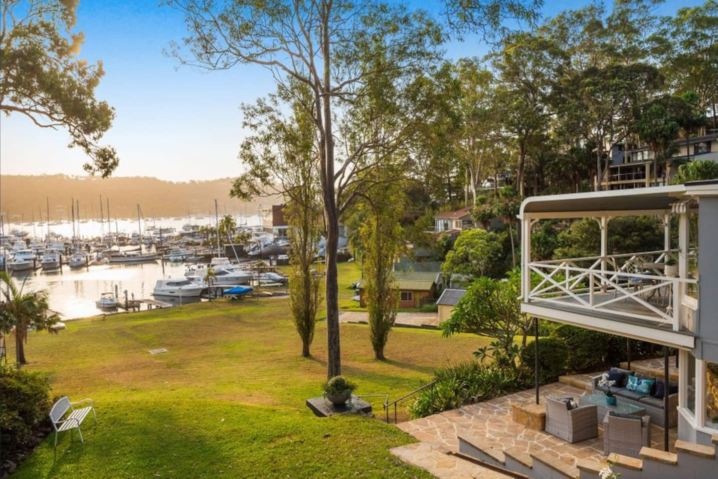 Absolute waterfront with private Jetty.