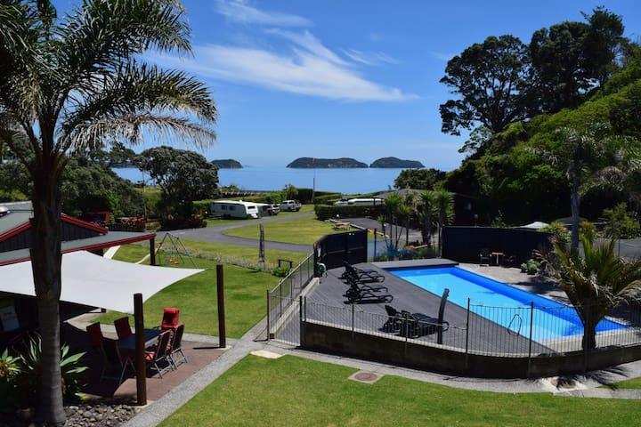 Penthouse overlooking Amodeo Bay