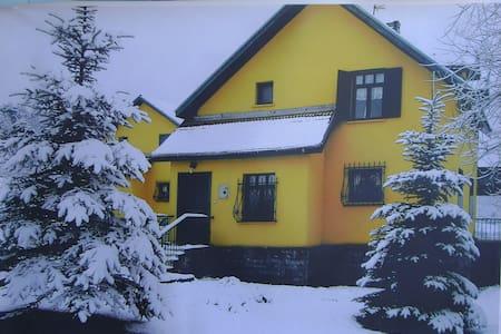 Bolu kartal kaya  yolunda şahane dağ evi - Kındıra Köyü - Villa