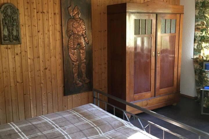 Waldnest Odenwald - Das Highlandzimmer