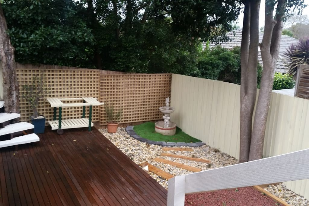 backyard for some outdoor activity