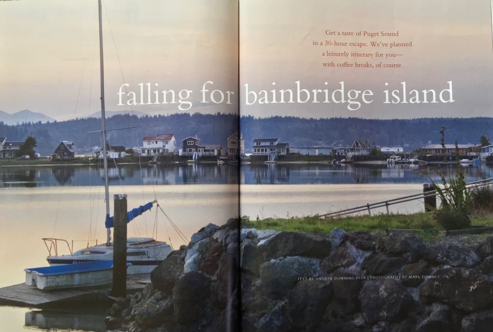 The Sandspit featured in Costal Living