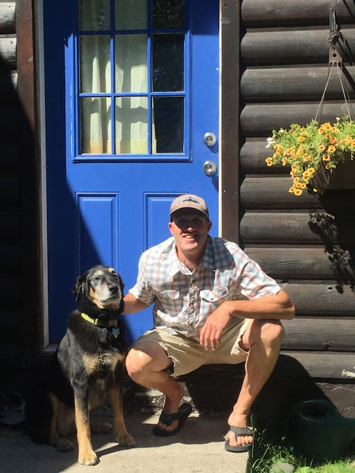 Your Hosts: Keith & Numa.  I am a 5th Grade teacher during the school year and wilderness guide during the summer.  Numa enjoys long runs, belly rubs, and chasing squirrels.