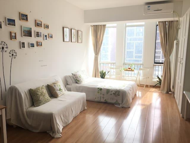 地铁旁的阳光书香公寓 - 北京市 - อพาร์ทเมนท์