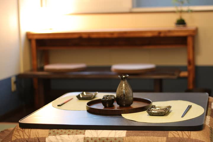 Japanese style room!4 min walk to Kenrokuen!new!