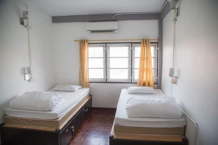 Affordable Room for 2 Person @ The Cassette Hostel