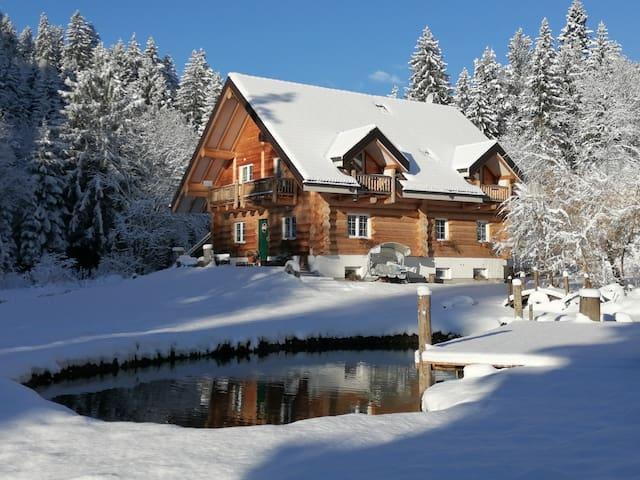 Chalet le Dorf B&B Camera lux bagno e sauna vapore