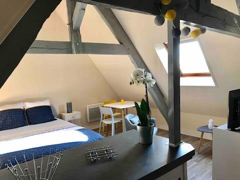 Charmant petit studio en plein cœur de Bayeux