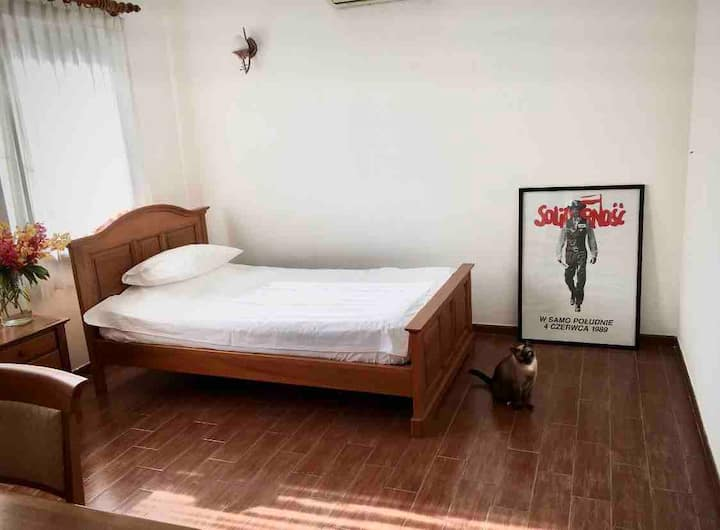 Cozy private room Thao Dien w charm