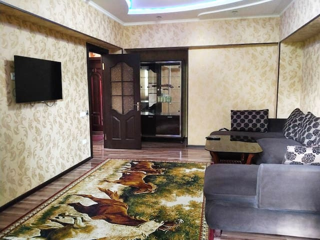 COMFORTABLE STAY IN THE HEART OF TASHKENT .