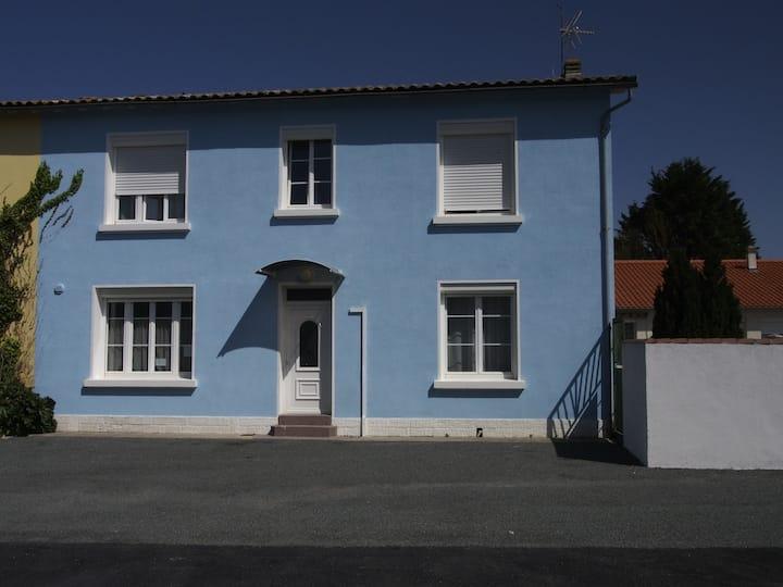 La Rochelle maison familiale 120m2