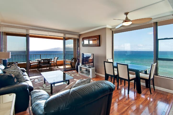 Kaanapali Maui - Absolutely Oceanfront Penthouse