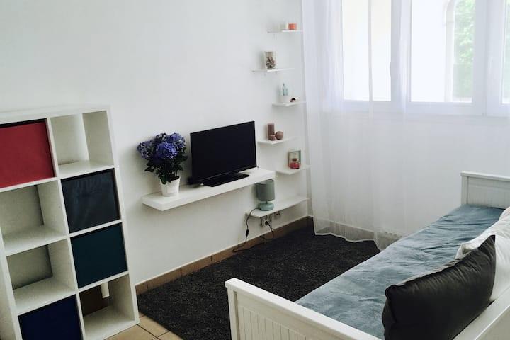 Studio meublé pour travailleur ou couple